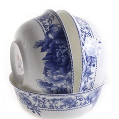 老瓷匠骨瓷碗套装 景德镇陶瓷器可配大面碗 创意厨房餐具品牌特价