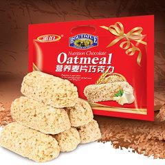 零食年货糖果雅伯燕麦片巧克力500g oat choco