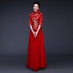 中式新娘敬酒服