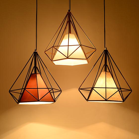 创意个性复古工业吊灯