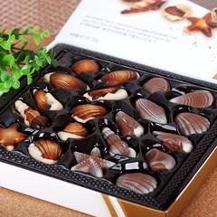 金莎贝壳巧克力比利时风味巧克力金莎情人节礼盒装225g