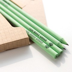 彩色笔杆铅笔4支组