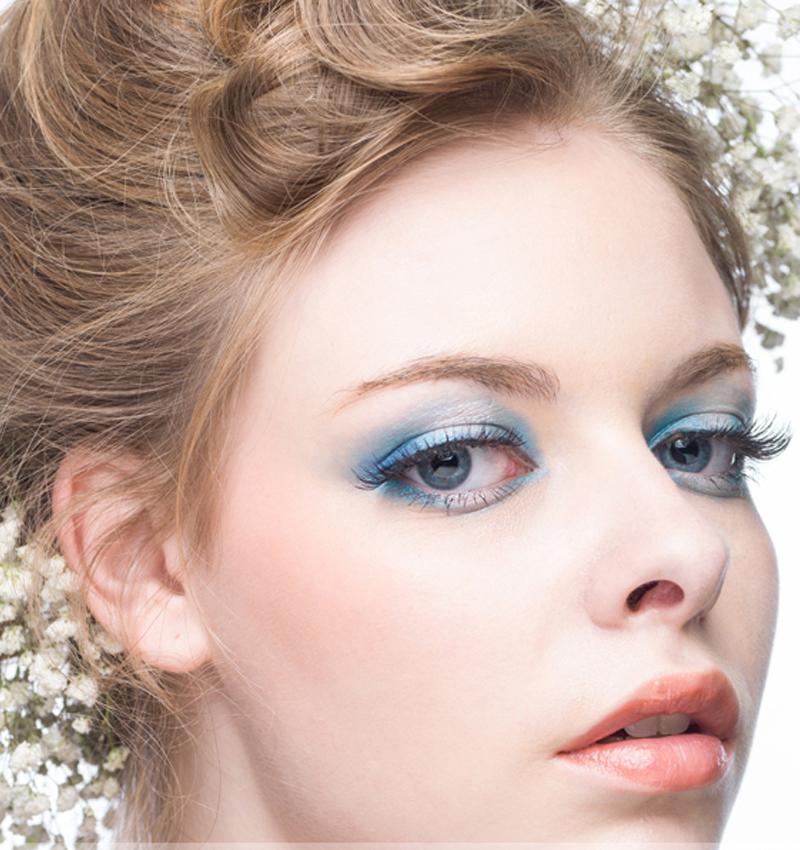 BLEUNUIT/深蓝彩妆舞动星纱眼影盒彩妆盘珠光烟熏大地多色防水