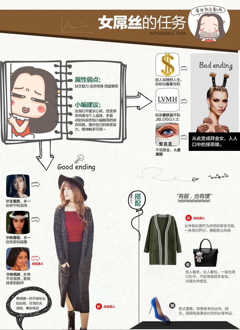 秋冬新款韩国女装针织长袖开衫毛衣女中长款加厚学生少女宽松外套