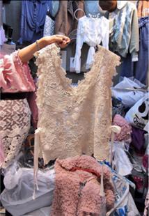 2018早春新款韩版女装蕾丝系带搭配V领马甲背心外搭罩衫上衣潮