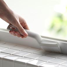 懒角落 门窗地板缝槽缝隙刷窗户凹槽清洁工具窗台刷子死角刷66011