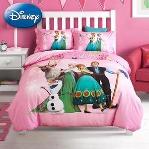 儿童 /span>卡通 span class=h>床 /span>品纯棉小女孩白雪公主全棉