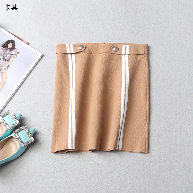 [特15]109842 春拉链短半身裙图片