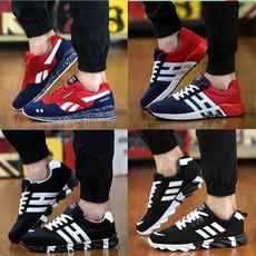 春季黑白红色大童运动潮男鞋子35板鞋36小码37韩版潮流38休闲潮鞋
