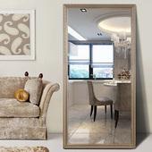 镜界试衣镜穿衣镜全身镜子时尚欧式壁挂镜子落地镜服装店镜子