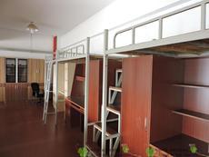 大学生宿舍公寓床组合床员工上床下桌带衣柜书桌铁床单双人高低床