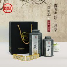 郎河普洱茶熟茶 一盏 云南小沱茶方砖 小金砖 勐海茶厂 两罐500g