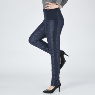 会说话的裤子羽绒裤女外穿高腰显瘦弹力修身超轻薄加厚百搭白鸭绒