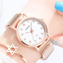 Watch Female Student Korean Simple Fashion Trend Waterproof Leisure Atmosphere Institutes Harajuku Wind Quartz Watch