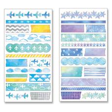 日本Mind Wave和纸胶带 原厂分装胶带 文具手账装饰必备 整张多款