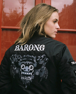 Barong Family Bomber Jacket巴龙夹克外套yellow claw黄爪飞行员