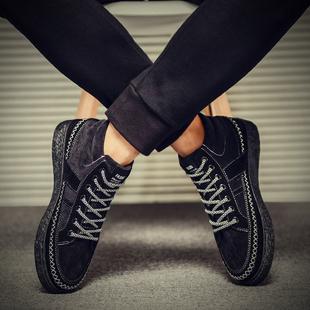 2016冬季男鞋高帮鞋加绒保暖棉鞋板鞋男士系带韩版休闲潮流运动鞋