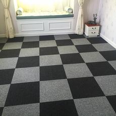 办公室地毯方块酒店公司写字楼卧室商用沥青PVC纯色满铺拼接地毯