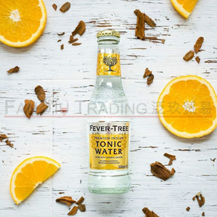 英国FEVER TREE INDIAN TONIC WATER芬味树印度汤力汽水200ML*24