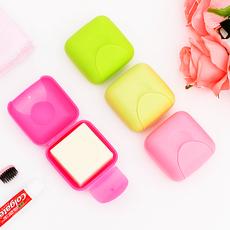 etravel/易旅 便携香皂盒洗脸皂盒有盖创意带盖 旅行肥皂盒