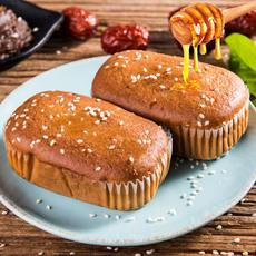 枣粮先生蜂蜜红枣蛋糕约1000g枣泥糕点山东特产休闲零食早餐面包