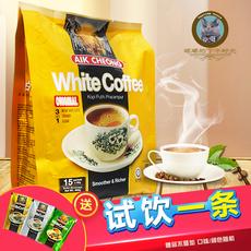 马来西亚进口 咖啡正宗益昌老街Aik Cheong白咖啡三合一原味600g