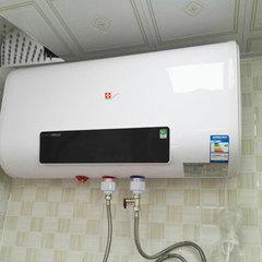 热水器特价电热水器电家用速热节能储水式扁桶洗澡机40/50/60/80l