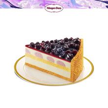 哈根达斯 芝士蛋糕 蓝莓芝士蛋糕单片 二维码专拍