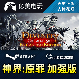 PC正版 steam 神界:原罪加强版 Divinity:Original Sin Enhanced