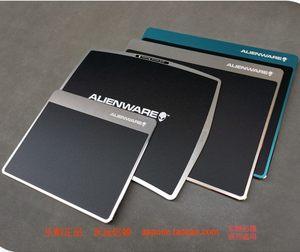 戴尔外星人游戏鼠标垫 办公铝制合金属鼠标垫超大小号加厚硬定制