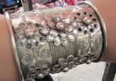苗银手镯 苗族手链 少数民族特色工艺品 苗族银饰 苗族手镯 一只