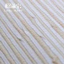 草编纸线编织墙纸日式家装 主材壁纸卧室背景墙玄关条纹草编墙纸