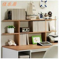 学生书架 桌上创意简易桌面开心小书架陈列架置物架