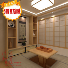桌守炯揖呱虾W≌空间测量定做整套榻榻米和室地台 榻榻米升降
