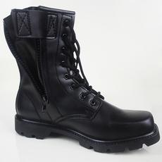 保安夏季07作战靴子军靴高帮皮靴黑色短靴英伦马丁靴韩版工装靴男