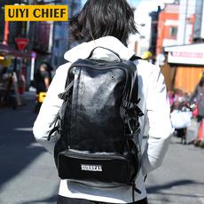佑一良品男士双肩包大容量背包男休闲包双肩背电脑包时尚旅行包袋