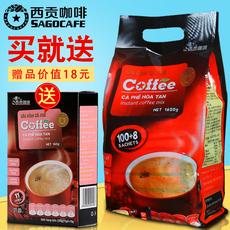 越南西贡咖啡三合一原味速溶咖啡粉1620g108条装原装进口即溶咖啡