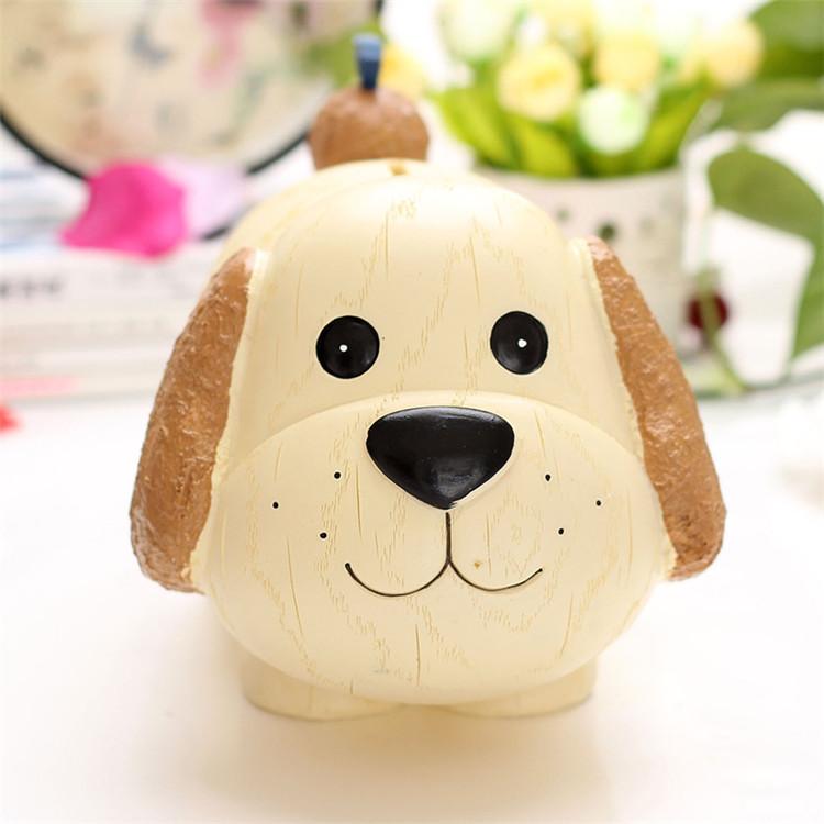 正版大號 狗狗樹脂儲蓄罐 生肖吉祥物小狗公仔存錢罐家居裝飾禮品