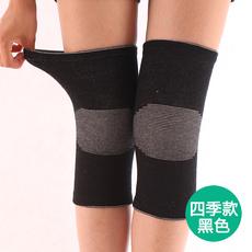 透气护膝春夏季时尚无痕 保暖运动护膝薄男女办公室空调房