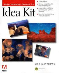 【预售】Adobe Photoshop Elements 3.0 Idea Kit [With CDR