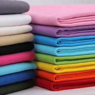 棉布布料 纯棉面料纯色加厚棉麻沙发套床单批发手工DIY 帆布布料