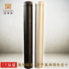 澳洲纽波特燃木铸铁壁炉 壁炉专用不锈钢烟管 304不锈钢材质烟管