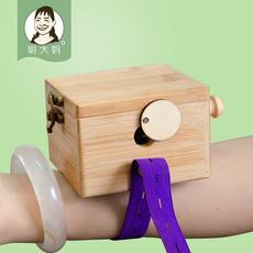 明大妈便携式随身灸竹制加厚艾灸盒艾灸罐微烟环保灸