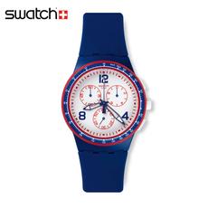 斯沃琪Swatch手表石英表中性2015罗兰加洛斯法网快速发球SUSZ100