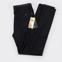 有褶中年蓝色长裤 商务正装 专柜正品 雅戈尔男装 羊毛西裤 tk23124