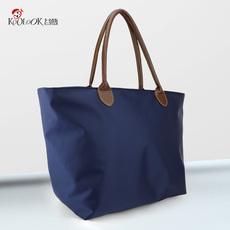欧美时尚女包布包防水尼龙包单肩包手提包饺子包水饺包通勤包大包