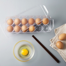 Egg box refrigerator crisper box egg holder a plastic egg