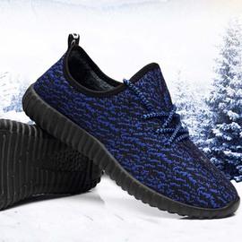 保暖棉鞋加绒老北京布鞋潮板鞋椰子