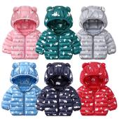 反季清仓儿童轻薄款羽绒棉服外套婴儿男女宝宝棉衣小童棉袄加厚冬
