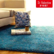 日式纯色地毯 圣瓦伦丁 北欧现代简约客厅茶几垫卧室加厚定制满铺